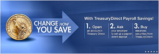 Change how you save with TreasuryDirect Payroll savings!