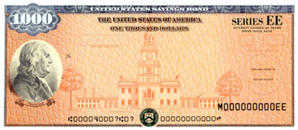 $1,000 Series EE Savings Bond